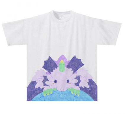 秋用フルプリントTシャツ